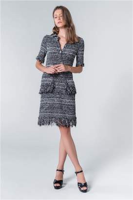 Sonia Rykiel Summer Tweed Polo Dress