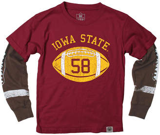 Wes & Willy Iowa State Cyclones Football Sleeve 2-In-1 T-Shirt, Infants (12-24 Months)