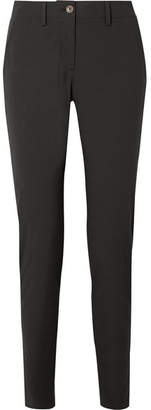 Tomas Maier Cotton-blend Poplin Slim-leg Pants - Black