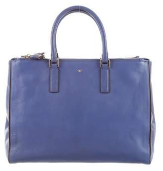 Anya Hindmarch Leather Ebury Tote gold Leather Ebury Tote