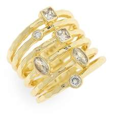 Melinda Maria Monroe Stacked Ring