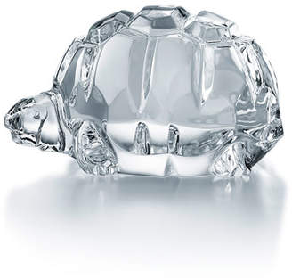 Baccarat Crystal Turtle