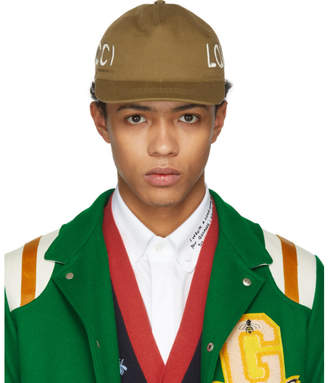 Gucci Khaki Loved Cap