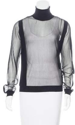 Maison Margiela 2016 Wool Rib Knit Sweater