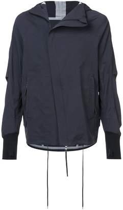 The Viridi-anne thumb cuff zipped jacket