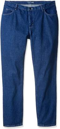 Lee Indigo Women's Tall Plus Size Relaxed Fit 5 Pocket Jean