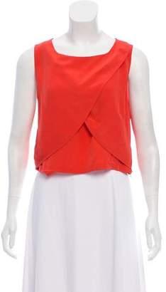 Rebecca Minkoff Sleeveless Silk Top