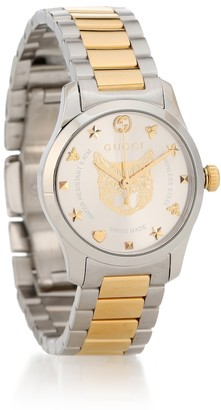 Gucci G-Timeless 27mm stainless steel watch