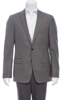 John Varvatos Wool Two-Button Blazer