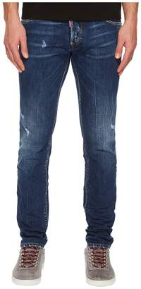 DSQUARED2 Dark Semplice Wash Slim Jeans