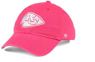 '47 Women Kansas City Chiefs Pastel Clean Up Cap