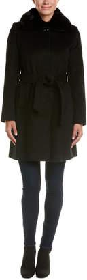Via Spiga Wool-Blend Coat
