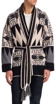 LA SOCIîTî X SAGUARO Cashmere Sweater Robe