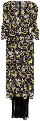 Magda Butrym silk downey floral print dress