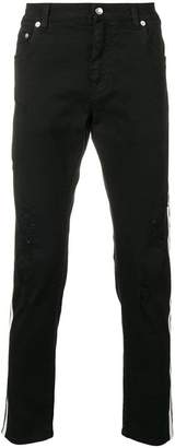 Dolce & Gabbana contrasting side stripes jeans