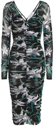 Diane von Furstenberg Ruched lily dress