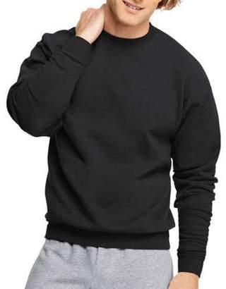 Hanes Big Men's Ecosmart Medium Weight Fleece Crew Neck Sweatshirt