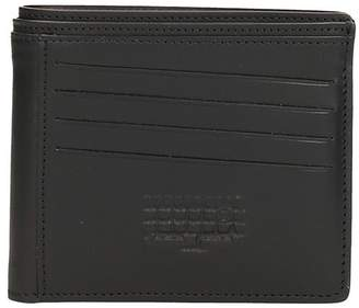Maison Margiela Black Leather Wallet