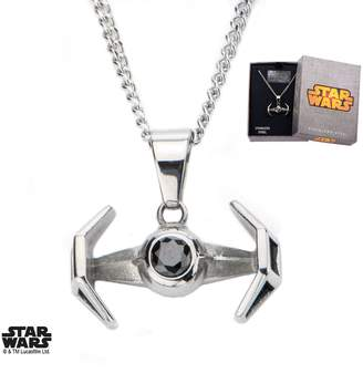 Star Wars Body Vibe Stainless Steel Disney Tie Fighter Pendant Necklace