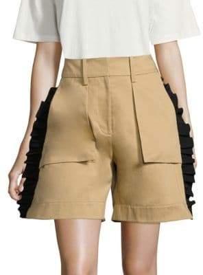Public School Mousa Twill Cotton Shorts