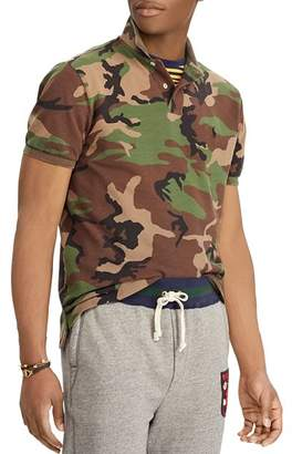 Polo Ralph Lauren Polo Camouflage-Print Mesh Classic Fit Polo Shirt