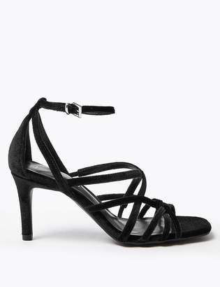 Marks and Spencer Multi Strap Stiletto Heel Sandals