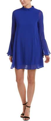 Dee Elly Bell-Sleeve Shift Dress