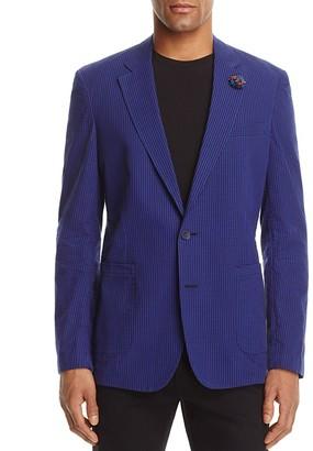 Robert Graham Barito Check Classic Fit Blazer $398 thestylecure.com