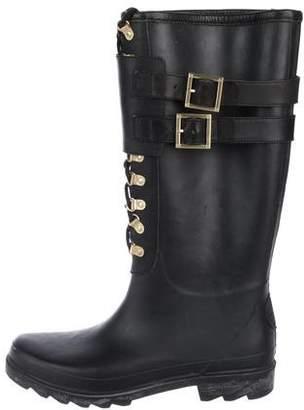 Tory Burch Combat Rain Boots