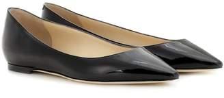 Jimmy Choo Romy Flat patent leather ballerinas