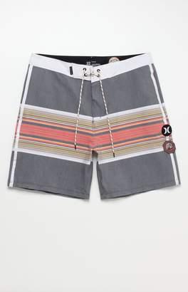 "Hurley x Pendleton Stripe Acadia 18"" Boardshorts"