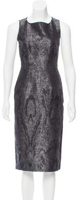 6267 Patterned Midi Dress