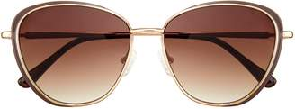 Vince Camuto Wire-frame Cat-eye Sunglasses