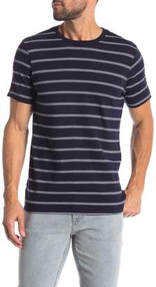 Save Khaki Stripe Short Sleeve Tee