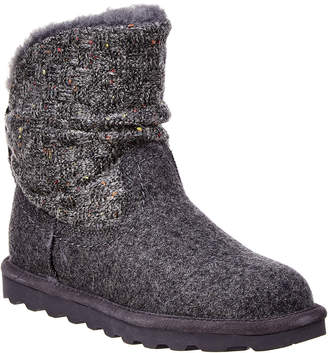 BearPaw Virginia Never Wet Water-Resistant Wool Boot