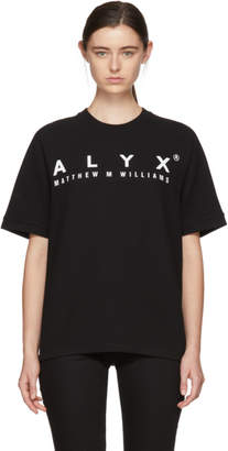 1017 Alyx 9SM Black Logo Baseball T-Shirt