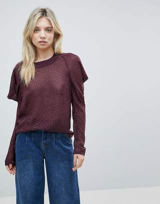 Minimum Cold Shoulder Sweater