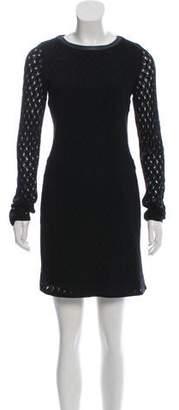 Diane von Furstenberg Slim Kivel Ladder Lace Dress