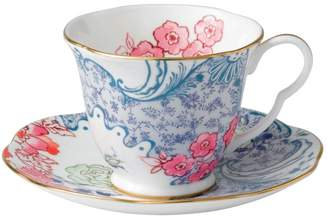 Wedgwood Butterfly Bloom Spring Blossom Cup & Saucer