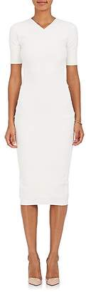 Victoria Beckham Women's Crepe-Knit Fitted Dress