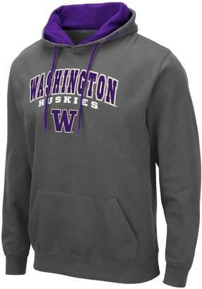 NCAA Unbranded Mens Washington Huskies Mens Pullover Hooded Fleece
