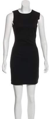 Walter W118 Baker Faux Leather-Paneled Mini Dress