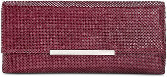 INC International Concepts I.n.c. Hether Small Matte Flat Mesh Clutch