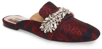Badgley Mischka Kana Embellished Loafer Mule
