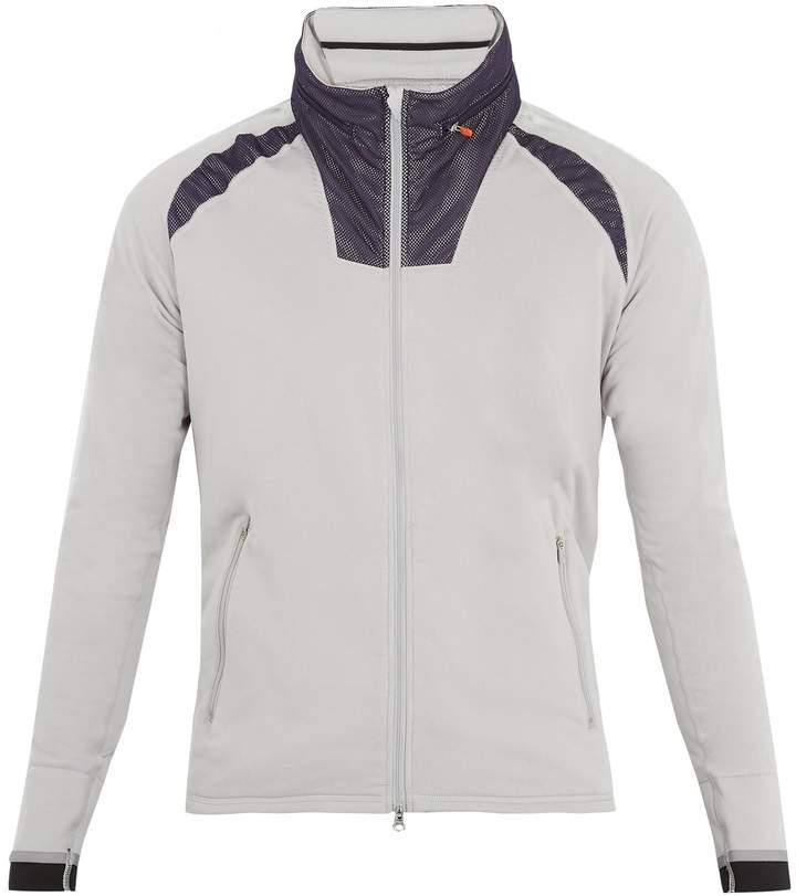 ADIDAS BY KOLOR Climaheat® zip-through jersey sweatshirt