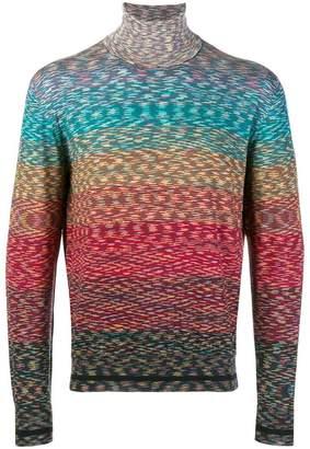 Missoni roll neck sweater