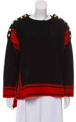 Alexander McQueen Long Sleeve Cashmere Sweater