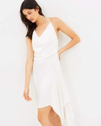 Monaco Cowl Neck Dress