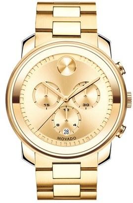 Men's Movado 'Bold' Chronograph Bracelet Watch, 44Mm $995 thestylecure.com