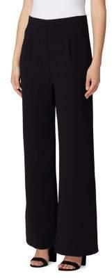 Tahari Arthur S. Levine Petite Crepe Wide-Leg Pants